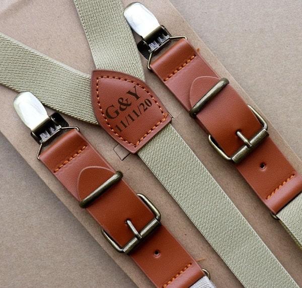 Groomsman Suspenders