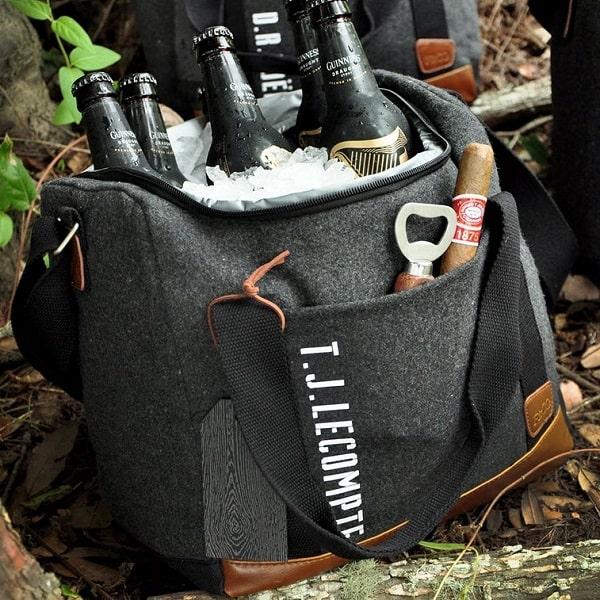 Personalized groomsmen Cooler Bag